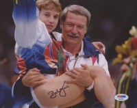 Bela Karolyi Signed Team USA 8x10 Photo (PSA COA) at PristineAuction.com
