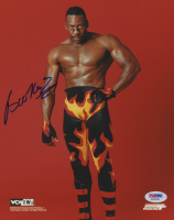 Booker T Signed WWE 8x10 Photo (PSA COA) at PristineAuction.com