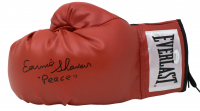 """Earnie Shavers Signed Everlast Boxing Glove Inscribed """"Peace"""" (JSA COA) at PristineAuction.com"""
