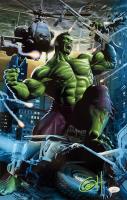 "Greg Horn Signed Marvel ""Hulk City Rampage"" 11x17 Lithograph (JSA COA) at PristineAuction.com"