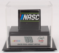 Dale Earnhardt Jr. NASCAR Race-Used Sheet Metal Display (Fanatics COA) at PristineAuction.com
