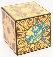 """Doug Bradley Signed """"Hellraiser"""" Lament Configuration Puzzle-Box Cube Prop (Legends COA) at PristineAuction.com"""