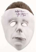 "Jim Winburn Signed ""Halloween"" Michael Myers Mask Inscribed ""Michael Myers"" & ""Stunts"" (Legends COA) at PristineAuction.com"