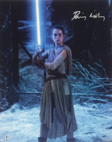 """Daisy Ridley Signed """"Star Wars: The Force Awakens"""" 16x20 Photo (Beckett COA) at PristineAuction.com"""