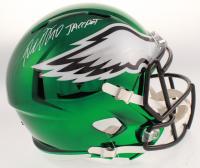 "DeSean Jackson Signed Philadelphia Eagles Full-Size Chrome Speed Helmet Inscribed ""Jackpot"" (Beckett COA) at PristineAuction.com"