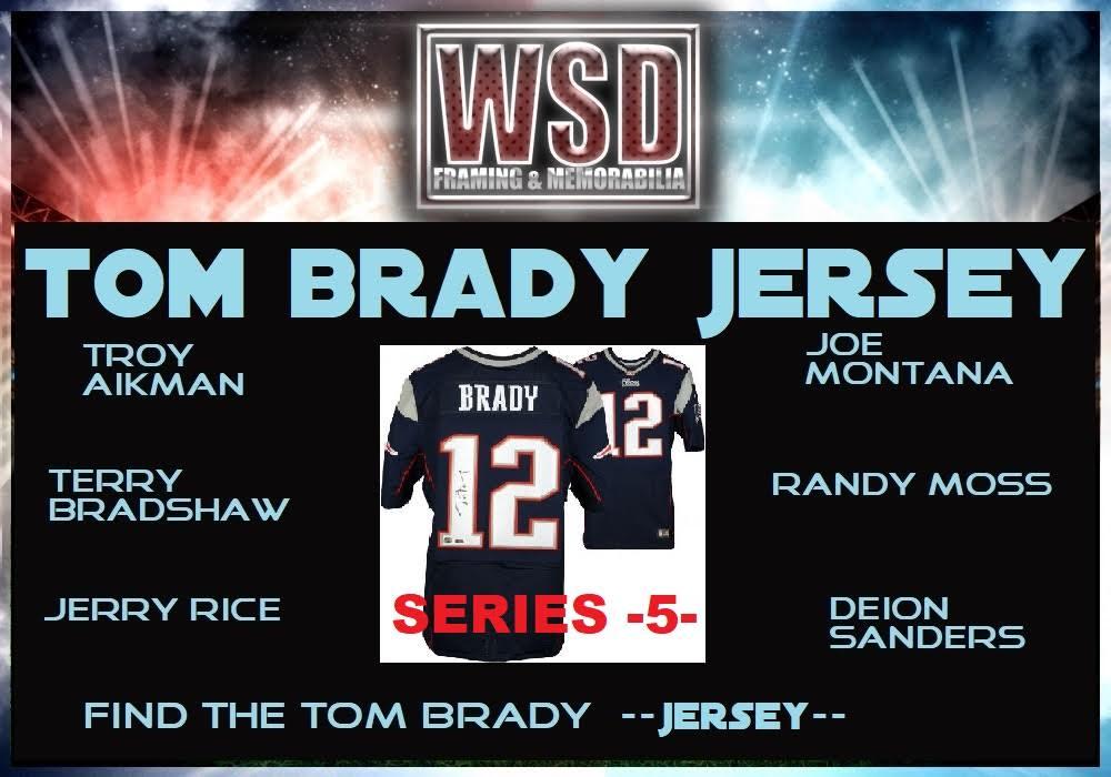 WSD Tom Brady Jersey Mystery Box - Series 5 (Find the Tom Brady Jersey) at PristineAuction.com