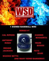 WSD Baseball Mini Helmet Mystery Box - Series 1 at PristineAuction.com