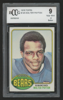 1976 Topps #148 Walter Payton RC (BCCG 9) at PristineAuction.com