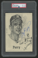 Gaylord Perry Signed Cleveland Indians (PSA Encapsulated) at PristineAuction.com
