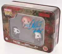 "Alex Vincent Signed #10 Ghost Face / Chucky / Billy Horror Funko Pocket Pop! Vinyl Figures Tin Set Inscribed ""Andy"" (Legends COA) at PristineAuction.com"