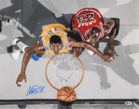 Magic Johnson Signed Los Angeles Lakers 16x20 Photo (Beckett COA) at PristineAuction.com
