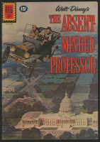 "Vintage 1961 ""The Absent-Minded Professor"" Issue #1199 Dell Comic Book at PristineAuction.com"