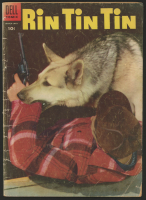 "Vintage 1955 ""Rin Tin Tin"" Issue #8 Dell Comic Book at PristineAuction.com"