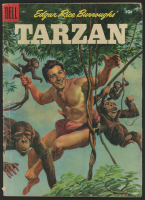 "Vintage 1955 ""Tarzan"" Issue #1 Dell Comic Book at PristineAuction.com"