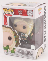 Charlotte Flair Signed WWE #62 Funko Pop! Vinyl Figure (Pro Player Hologram) at PristineAuction.com