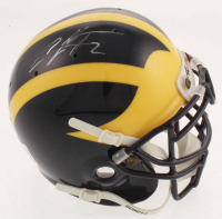 Charles Woodson Signed Michigan Wolverines Mini Helmet (Beckett COA) at PristineAuction.com