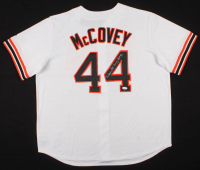 "Willie McCovey Signed San Francisco Giants Jersey Inscribed ""HOF 86"" (JSA COA) at PristineAuction.com"