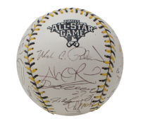 2006 All-Star Game Baseball Signed by (26) with Derek Jeter, Alex Rodriguez, Mariano Rivera, Ichiro Suzuki, Vladimir Guerrero (Beckett LOA) at PristineAuction.com