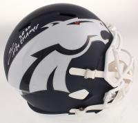 "Chris Harris Jr. Signed Denver Broncos Full-Size AMP Alternate Speed Helmet Inscribed ""SB 50 Champs"" (Beckett COA) at PristineAuction.com"