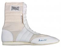 Muhammad Ali Signed Vintage Everlast Boxing Boot (PSA LOA) at PristineAuction.com