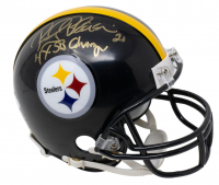"Rocky Bleier Signed Steelers Mini Helmet Inscribed ""4x SB Champs"" (JSA COA) at PristineAuction.com"
