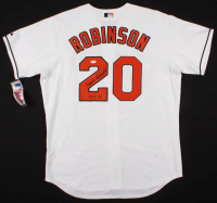 "Frank Robinson Signed Baltimore Orioles Jersey Inscribed ""HOF 82"" (JSA COA) at PristineAuction.com"