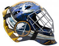 "Dominik Hasek Signed Buffalo Sabres Full Size Goalie Mask Inscribed ""HOF 14"" (JSA COA) at PristineAuction.com"
