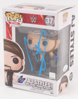 "A.J. Styles Signed ""WWE"" AJ Styles #37 Funko Pop! Vinyl Figure (JSA COA) at PristineAuction.com"