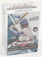 2019 Topps Chrome Baseball Retail Blaster Box with (8) Packs at PristineAuction.com