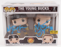 "Matthew Massie & Nicholas Massie Signed ""New Japan Pro-Wrestling"" The Young Bucks Funko Pop! Vinyl Figure (JSA COA) at PristineAuction.com"