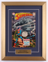 "Vintage 1958 ""Superman"" Issue #216 13x17 Custom Framed DC Comic Book at PristineAuction.com"