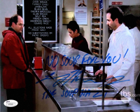"Larry Thomas Signed ""Seinfeld"" 8x10 Photo Inscribed ""No Soup For You!"" & ""The Soup Nazi"" (JSA COA) at PristineAuction.com"