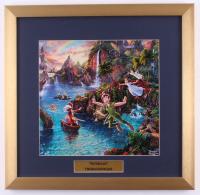 "Thomas Kinkade Walt Disney's ""Peter Pan"" 17.5x18 Custom Framed Print Display at PristineAuction.com"