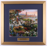 "Thomas Kinkade Walt Disney's ""101 Dalmations"" 17.5x18 Custom Framed Print at PristineAuction.com"