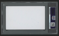 Donald Trump Signed 3x5 Index Card (PSA Encapsulated) at PristineAuction.com