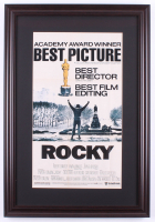 """Rocky"" 17.5x25.5 Custom Framed Movie Poster Display at PristineAuction.com"