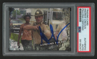 Andrew Lincoln Signed 2018 The Walking Dead Road to Alexandria #12 Searching for Hope (PSA Encapsulated) at PristineAuction.com