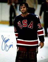 Jim Craig Signed Team USA 11x14 Photo (JSA COA) at PristineAuction.com