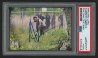 Andrew Lincoln Signed 2018 The Walking Dead Road to Alexandria #46 Farmer Rick (PSA Encapsulated) at PristineAuction.com