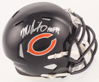 "Mike Singletary Signed Chicago Bears Mini Speed Helmet Inscribed ""HOF 98"" (JSA COA) at PristineAuction.com"