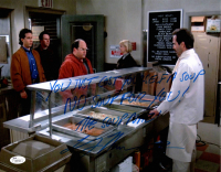 "Larry Thomas Signed ""Seinfeld"" 11x14 Photo Inscribed ""You Just Cost Yourself A Soup, No Soup For You!"" & ""The Soup Nazi"" (JSA COA) at PristineAuction.com"
