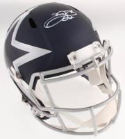 Emmitt Smith Signed Dallas Cowboys AMP Alternate Full-Size Speed Helmet (TriStar Hologram & Prova COA) at PristineAuction.com