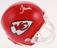 Tyreek Hill Signed Chiefs Mini Helmet (JSA COA) at PristineAuction.com