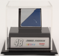 Jimmie Johnson NASCAR Race-Used Sheet Metal Display (Fanatics COA) at PristineAuction.com