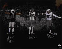 Johnathan Abram, Clelin Ferrell & Trayvon Mullen Signed LE Oakland Raiders 16x20 Photo (JSA COA) at PristineAuction.com