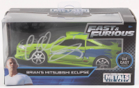 "Chad Lindberg Signed ""Fast & Furious"" Brian's Mitsubishi Eclipse Metal Die-Cast Model Car (Beckett COA) at PristineAuction.com"