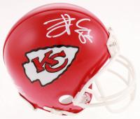 Travis Kelce Signed Chiefs Mini Helmet (Beckett COA) at PristineAuction.com