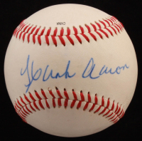 Hank Aaron Signed OL Baseball (JSA COA) at PristineAuction.com