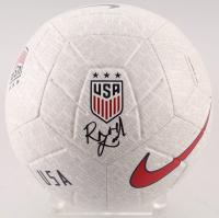 Rose Lavelle Signed Team USA Logo Nike Soccer Ball (JSA COA) at PristineAuction.com