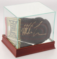 Mike Tyson Signed Everlast Sparring Glove with High Quality Display Case (JSA COA) at PristineAuction.com